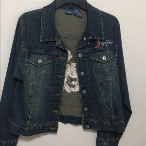 Disney seven dwarfs Jean jacket